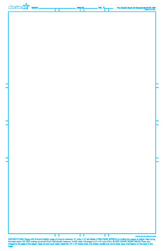 blue line art